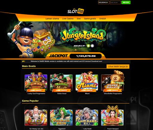 Situs Slot 88 Terbaik Resmi Indonesia